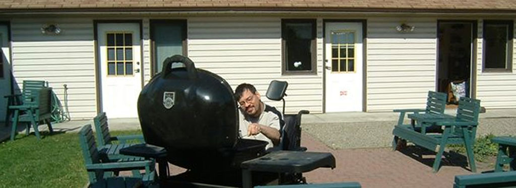 group home BBQ